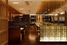 西安日式料理店装修设计图