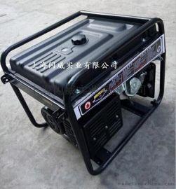 闪威8KW汽油发电机,380V小型静音家用发电机