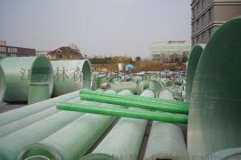 林森玻璃钢管道报价  缠绕排水管厂家