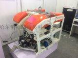 海蔘捕撈 ROV 水下機械手作業