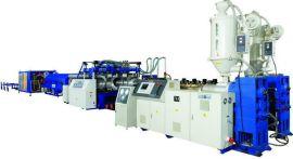 PE/PVC双壁波纹管生产线