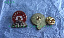 定制铜材料珐琅镀金胸章 大学胸章制作