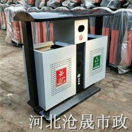 唐山铁皮垃圾桶 户外垃圾桶厂家
