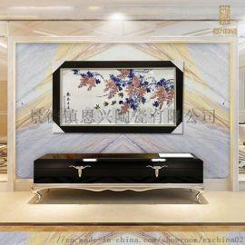 家具装饰瓷板画 艺术瓷板画   礼品瓷板画