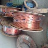 软态紫铜盘管 磷脱氧铜管 空调制冷专用紫铜管