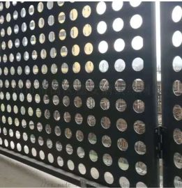廣州廠家直銷圓孔網 喇叭網菱形孔 金屬衝孔網板來圖加工定做