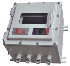 挂壁式防爆仪表控制箱,可面板操作防爆照明电源箱