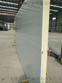 小波纹有拉缝型聚氨酯夹芯墙面板