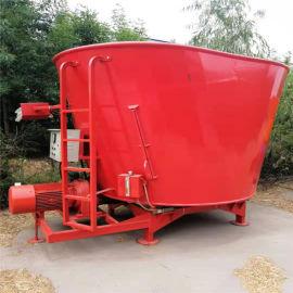 青贮饲料搅拌机,养牛基地秸秆粉碎拌料机