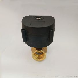 微型电动球阀4分水控阀AC/DC常闭常开电动阀门