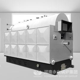 2吨活动炉排生物质颗粒蒸汽锅炉