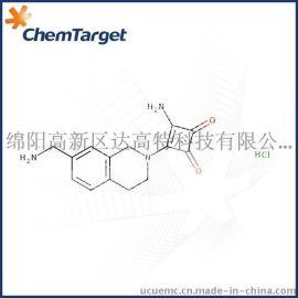 3-氨基-4-(7-氨基甲基-3, 4-二**-1H-异喹啉-2-基)环丁-3-烯-1, 2-二酮盐酸盐 (CAS: 903556-98-9)