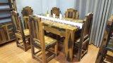 船木家具餐台,餐厅家具餐台7件套,专业船木厂家现货