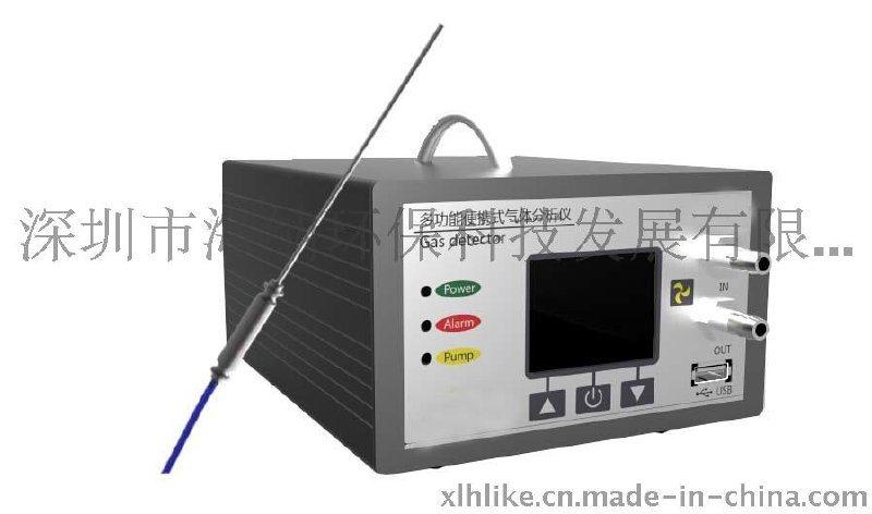 泵吸式空气质量分析仪,高精度便携式二氧化硫检测仪