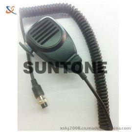 车载话筒扬声器 4芯航空头订制