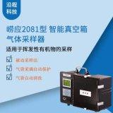 崂应2081型便携式智能真空箱气体采样器