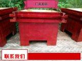 室外木质花池制作厂家 来电咨询户外实木花箱