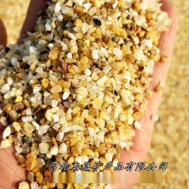 本格厂家供应精制石英砂 98高含量石英砂