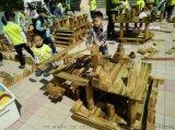 大型益智兒童積木玩具 大型木質積木玩具