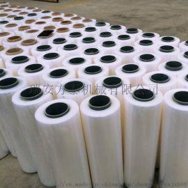 供应**PE缠绕膜 保鲜膜 拉伸膜包装生产设备
