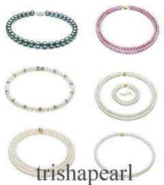 珍珠项链、手链(KK-4-3)