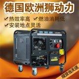 电启动300A柴油发电电焊两用机