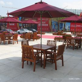 万达广场开盘休闲座椅太阳伞