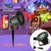 供应LED圣诞雪花投影灯 户外防水星星/月亮景观灯