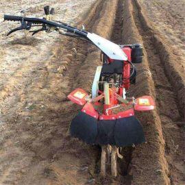小型柴油田园耕种机 后悬式微耕机 开沟机 培土起垄机除草机