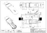 廠家供應QF-618船用備用箱不鏽鋼搭扣 藥劑箱釦(圖)