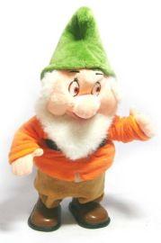 走路唱歌带灯圣诞老人小矮人(JT027)