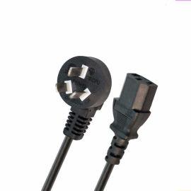 QIAOPU 国标电源线 乔普 国标纯铜三插电源连接线3芯0.5-2.5平方带插头电源线插头线设备连接线