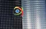 1*1cm方格PVC透明网格布 复合面料