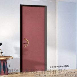 河北石家庄厂家生产室内门生态门铝木门