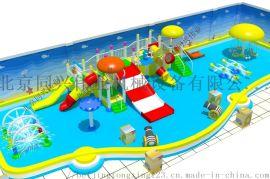 北京厂家水上滑梯水寨水屋水上乐园滑梯户外游乐设备