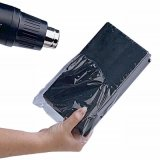 PVC熱收縮膜 化妝品包裝膜 藍色透明 吹風機吹即收縮