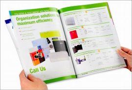 厂家长期供应 彩页海报画册印刷 企业形象画册印刷