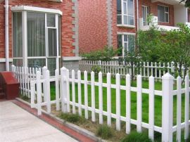 鞍山PVC草坪护栏 鞍山PVC护栏 鞍山PVC小区护栏 九州