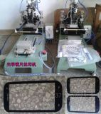 SMT印刷,手表镜表、手机盖板、手机镜片、手机像圈,PVC,塑料薄膜精密镜片平面丝印机