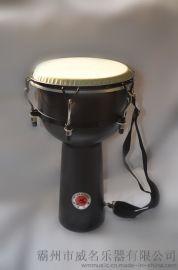 威名非洲鼓ABS材质鼓面合成鼓皮8寸10寸12寸 鼓皮防水
