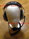 对讲机头戴式耳機静噪对讲耳機头盔安全帽