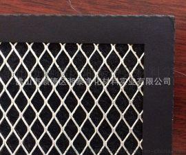 厂家供应包边铝板冲孔滤网耐高温油烟机滤网湘泰净化厂
