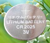 CR2025 3V纽扣电池