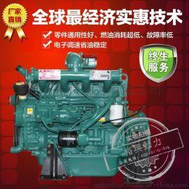 R4108ZD 潍坊柴油发动机 潍柴水冷四缸柴油发电机组 裕兴厂家直销