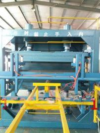 鑫达多功能防火门芯板设备价格 大型自动翻板门芯板压板机设备厂家