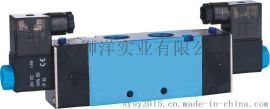 气动元件电磁阀 4V420-15-220V/24V 气缸配件控制阀气阀快排阀门