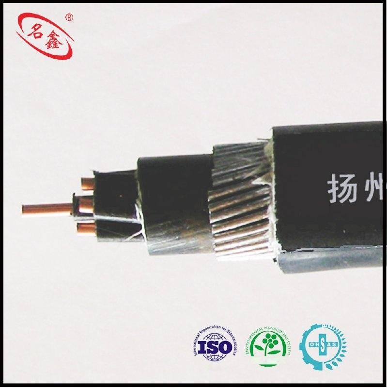 煤安认证  名鑫 MKYJV32  450/750V   7X1.5  煤矿用交联聚乙烯绝缘聚氯乙烯护套细钢丝铠装控制电缆