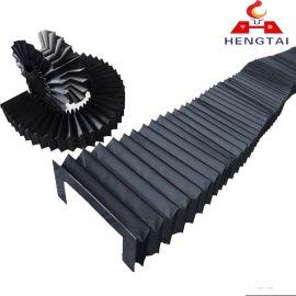 机床风琴式防护罩 导轨防尘罩 一字防护帘 各种样式均可
