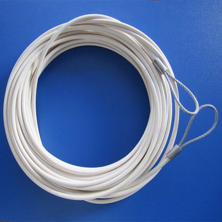 供應彩色塗塑鋼絲繩跳繩