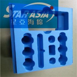 植绒eva海绵制品 **环保包装内衬 热压eva内衬礼盒厂家